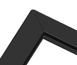 """Цена сенсорной панели онлайн-55 """" дюймовый usb внешний сенсорный экран сенсорная панель Цена 10 очков инфракрасный сенсорная панель наложения комплект для ТВ-монитор, смарт-зеркало"""