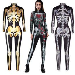 Seksi Kafatası İskelet Tulum Catsuit Seksi Cosplay Kostümleri Cadılar Bayramı Kadınlar Bodysuit Fantezi Elbise S920 nereden