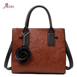 Brand Fashion Floral Women Handbags Luxury PU Leather High Quality Crossbody  Bags For Women Large Capacity Shoulder Bag Sac 2018 e1c814cac981f