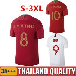 78d9bbb91e jerseys fútbol portugal Rebajas Top 2018 2019 MOUTINHO CR7 Ronaldo Portugal  camisetas de fútbol QUARESMA 2018
