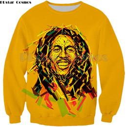 bob marley tops Rabatt PLstar Cosmos Homme Lässige Bob Marley 3D Gedruckt hip hop style tops Mann frauen Sweatshirt mode hoodies tops Plus größe S-5XL