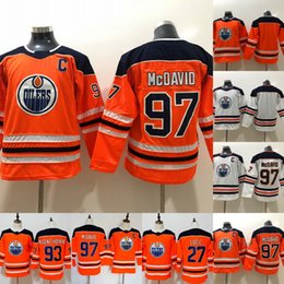 9677ffc660b Youth Captain C Patch  97 Connor McDavid Jerseys Edmonton Oilers 27 Milan Lucic  29 Leon Draisaitl 99 Wayne Gretzky Hockey Jerseys Cheap captain patch jersey  ...