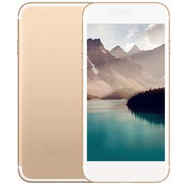 Wholesale 4g Andriod - Goophone 8 Quad Core MTK6580 1G RAM 8G ROM 8MP 3G WCDMA Fingerprint Unlocked Smartphone show Fake 4G Andriod 7.0 Sealed Box