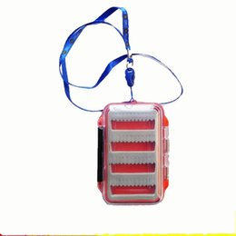 Caixas à prova de umidade on-line-Mouldproof Flexível Caixa De Armazenamento À Prova De Umidade Caixa De Isca Selo Trompete Portátil Transparente Reutilizável Anzol Caixas De Equipamento De Pesca 10zd jj