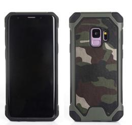 2019 escudo militar Camuflagem militar à prova de choque à prova de choque de silício armadura case para samsung galaxy s9 s8 além de nota 5 4 s7 borda tampa traseira do telefone de luxo shell case