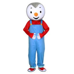 T'choupi Maskot Kostümleri Animasyonlu tema Cospaly Karikatür maskot Karakter Cadılar Bayramı Karnaval parti Kostüm nereden cep telefonu fabrikası tedarikçiler