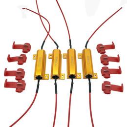 2019 porta para honda liberada Resistências de carga do diodo emissor de luz de 50W 6Ohm para luzes de sinal da volta do diodo emissor de luz ou luzes da placa de licença do diodo emissor de luz ou DRL (fixe o flash Hyper, cancellor de advertência)