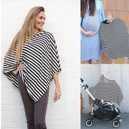 Wholesale Baby Red Cape - 3in1 Breastfeeding Nursing Covers Baby Car Seat Canopy Cover Nursing Scarf Cover Up Apron shawl cape