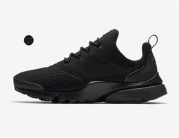 Wholesale cargo air - 2018 Acronym Airs Presto Mid Running Shoes Sneaker Trainers Sportswear,Black-bamboo Lava olive cargo green Sports Running Shoe 36-45