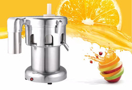 Wholesale Automatic Juicers - Commercial Stainless steel Juice Extractor 220V 550W 2800r min juice volume:100-120kg hr Juicer Machine LLFA