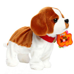 robot dog plush Coupons - Sound Control Robot Dog Electronic Dog Pet Walk Bark Puppy Electronic Pets Kids Gift Interactive Plush Pet Toys For Children