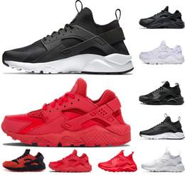 quality design 19c8a 86423 nike air huarache shoes Huarache 4.0 1.0 Classico Triple Bianco Nero grigio  oro rosso uomo donna huarache scarpe Huaraches sport Sneakers Scarpe da  corsa ...