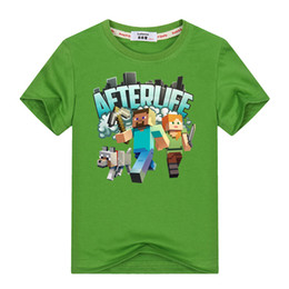 Vêtements Run Away jeunes T-Shirt 3 -13y Enfants Aventure T Shirt 100% Coton Garçons Filles Jeu Vidéo T-shirts Hauts Vêtements ? partir de fabricateur