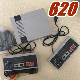 Wholesale Console Games - White New Arrival Mini TV Game Console Video Handheld for NES games consoles with retail boxs hot sale A-JY