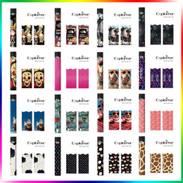 Wholesale Wholesale Pods - Sticker For Juul Customized Wraps Paper Cover Sticker Kits Electronic Cigarette Skin OEM Logo For Juul Kits Cartridges Pods
