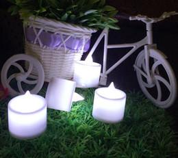 lâmpada em forma de vela Desconto Coluna de velas sem chama colorido LED vela lâmpada forma de onda amarela LED velas para festa de decoração de natal