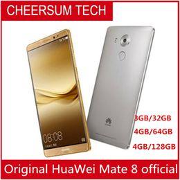 восстановленная глобальная прошивка HuaWei Mate 8 4G LTE смартфон Kirin 950 Android 6.0 6.0
