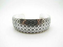 Brazaletes tibetanos online-Cute Design Tibetan Bracelet Silver Beautiful Stars Cuff Bangles Mujeres para la joyería de moda Nuevo