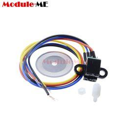 sensor de disco Desconto Fotoelétrico Sensor de Velocidade Codificador Código de Disco Disco de Código de Roda para Freescale Smart car 5 v Laser Corte Quadratura Sinal de Saída