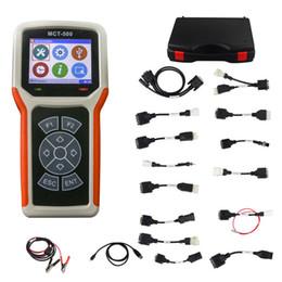 2019 herramientas de escáner de motocicletas MCT500 Universal Motorcycle Diagnostic Scanner MCT 500 MCT-500 Herramienta de diagnóstico de la motocicleta Soporte Multi-languages herramientas de escáner de motocicletas baratos