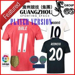 18 19 Real madrid Player version THIRD RED AWAY Soccer Jerseys ASENSIO BLAE  NAVAS K.CASILLA HOME BENZEMA ISCO JERSEY 2018 FOOTBALL SHIRT 8567ab3f6