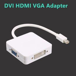 Wholesale dp vga - High Definition Switch Adapter Mini Dp To Hdmi Dvi Vgamini Dp To Hdmi Adapter DVI HDMI VGA Adapter