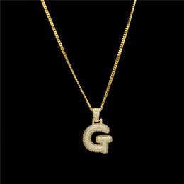 956f1fedd707 Letras de Hiphop Collares pendientes para hombres Mujeres Diseño de marca  Moda Hip Hop Charm Bling Ice Out Joyería chapada en oro colgantes de oro  para ...