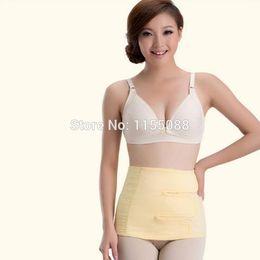 Wholesale Pregnant Woman Belly - Women Postpartum Abdomen Belt Maternity Binding Waist Cincher Pregnant Belly Band Body Shaper