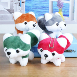 Wholesale Brown Dog Stuffed Animal - Boom SELLING. Small cute dog accessories toys for children key chains decorations funny cartoon images pendants plush stuffed animals