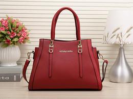 Wholesale Satchel Lady - 2017 new fashion European style brand bag lady designer handbag PU large capacity fashion shoulder bag