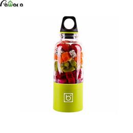 Tazze di miscelatore online-Eco-Friendly 500ml portatile Juicer Coppa USB ricaricabile elettrico automatico Bingo succo di frutta verdura caffè tazza della bottiglia Blender Mixer