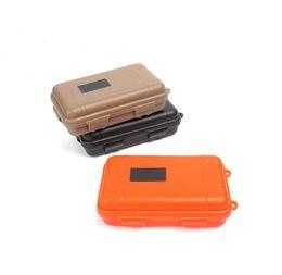Deporte al aire libre Equipo a prueba de golpes Caja impermeable Caja sellada EDC Herramientas Salvaje Supervivencia Caja de almacenamiento Venta caliente desde fabricantes