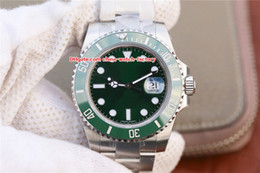 Wholesale production factories - Limited Production NOOB Factory Perfect V8 904L Steel 40mm 116610 116610LN 116610LV Swiss ETA 3135 Movement Automatic Mens Watch Watches