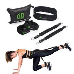 Canada Power Guidance Booty Band Bandes de résistance Ceinture d'exercice Pour les fessiers Muscle Workout Hanche Entraîneur de Fitness Exercice Sac Gratuit Offre