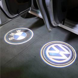 Gros-sans fil de voiture porte lumière logo projecteur bienvenue led lampe fantôme ombre lumière pour Audi Benz Toyota Nissan Mitsubishi Mazda VW Opel ? partir de fabricateur