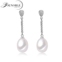 879282dc3628 2019 perlas pendientes pendientes Boda pendientes largos para mujer