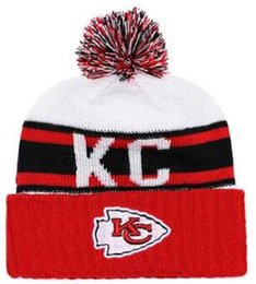 73cf343b Top Selling Kansas City beanie KC beanie Sideline Cold Weather Reverse  Sport Cuffed Knit Hat with Pom Winer Skull Cap 01