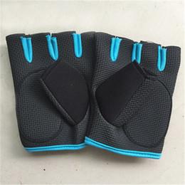 Wholesale Function Exercises - Outdoor Sport Multi-function Half Finger Gym Fitness Workout Jogging Running Gloves for Men & Women Exercise Training Fingerless