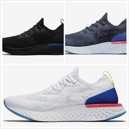 Wholesale Genuine Fur For Sale - 2018 Top N K Epic React Instant Go Fly Breath Comfortable Sport Boost Size 5-11 Mens Running Shoes For Sale Women Athletic Sneakers