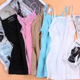 Wholesale burns vest - 5 Colors Japan MUNAFIE Body Sculpting Clothing Fat Burning Abdomen Postpartum Seamless Underwear Body Vest Mmemory Harness CCA10060 30pcs