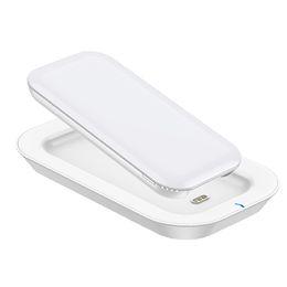 Banca del caricabatteria online-Caricabatteria JOYROOM senza fili Caricabatteria D-T199 10000mAh Caricabatteria per telefono Powerbank per iPhone Samsung LG
