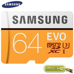 Samsung Original 64GB EVO Mini TF Carte Mémoire 4K Ultra HD Class10 100Mo / S MB-MP64G Livraison Gratuite ? partir de fabricateur