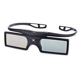 Wholesale active shutter 3d glasses - New Gonbes G15-DLP DLP-link Active Shutter 3d glasses for mobile Full HD Glasses 3D Movie Game for Projector