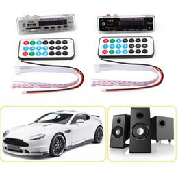 2019 плата mp3-детектора bluetooth mp3 Car Bluetooth MP3 WMA Decoder Board 12V Wireless Audio Module USB TF Radio скидка плата mp3-детектора bluetooth mp3