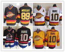 Wholesale Discounted Hockey Jerseys - Stitched Jersey 1 Kirk Mclean 16 Trevor Linden 10 Pavel Bure 89 Alexander Mogilny 44 Todd Bertuzzi 19 Markus Naslund Discount Jerseys