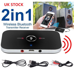 Canada 2 en 1 voiture sans fil Bluetooth transmetteur audio récepteur HIFI adaptateur de musique AUX RCA Offre