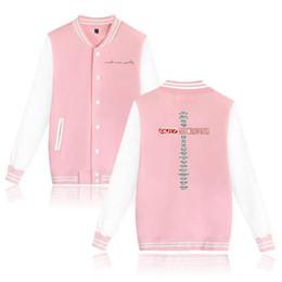 стенд для маркировки Скидка Kpop GOT7 2018 World Tour альбом глаза на вас Бейсбол куртка пара толстовки кофты женщины мужчины Марк Джексон печатные пиджаки