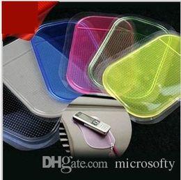 Wholesale Magic Slip - Anti Slip Mat Non Slip High quality Car Magic Anti-Slip Dashboard Sticky Pad Phone Holder Adsorbability Silica Gel Magic Car Sticky Pad