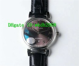 Wholesale 2892 Watch - Luxury Brand UF Factory 316L Steel Da Vinci IW356601 2892 Automatic Mens Watch Brown Dial Sapphire Calfskin Leather Bussiness Mens Watches