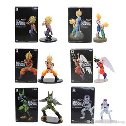 Nuovo Banpresto Dramatic Showcase Dragon Ball Z Kai Goku Gohan e Cell PVC Action Figure Modello 12cm-17cm da